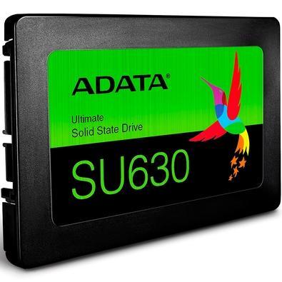 SSD Adata SU630, 480GB, SATA, Leitura 520MB/s, Gravação 450MB/s - ASU630SS-480GQ-R