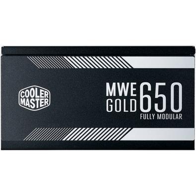 Fonte Cooler Master MWE 650W, 80 Plus Gold, Modular - MPY-6501-AFAAG