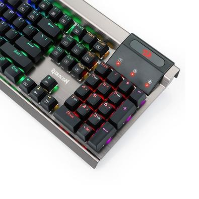 Teclado Mecânico Gamer Redragon Surya, RGB, Switch Outemu Blue, US - K563