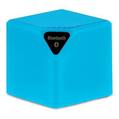 Caixa de Som Multilaser Smartogo Cubo Speaker 3W, Azul - SP308