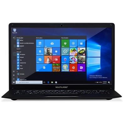 Notebook Multilaser Legacy, Intel Core N3350, 4GB, HD 64GB, 14.1´, Windows 10 Home - PC218