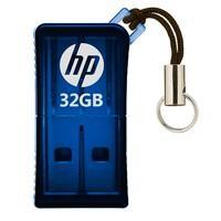 Pen Drive HP V165W 32GB, USB 2.0, Mini, Azul - HPFD165W-32
