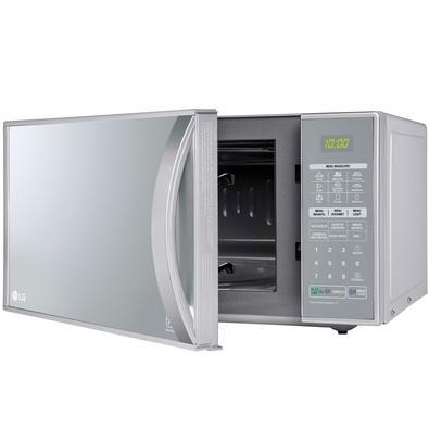 Micro-ondas LG Grill 900W/1000W, 30L, 220V, Prata - MH7053RA