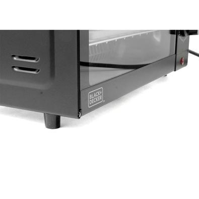 Forno Elétrico Black + Decker 9L, até 230C, 1000W, 110V - FT95-BR