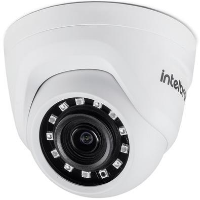 Câmera Dome Intelbras AHD, Infravermelho, Lente 2.8mm, Full HD, IR 20m - VMH 1220 D 4562048