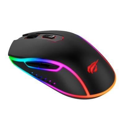 Mouse Gamer Havit RGB, 6 Botões, 2400DPI - HV-MS792
