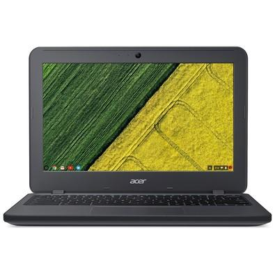 Chromebook Acer N7, Intel Celeron N3060, 4GB, 32GB, Chrome OS, 11.6´, Cinza - C731-C9DA