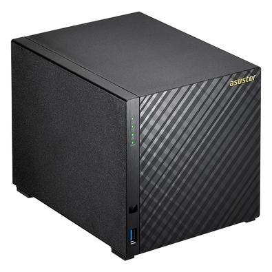 Storage Asustor V2 Marvell NAS, Sem Disco, 4 Baias - AS1004T