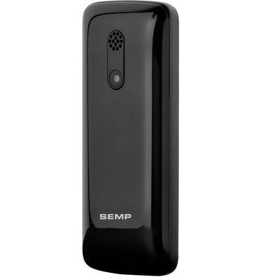 Celular Semp Go! 1L, até 32GB, Tela 1.8´, Câmera, Rádio FM, MP3, Dual Chip, Preto
