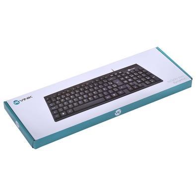 Teclado Vinik Slim Dynamic, Multimídia, ABNT2 - DT130