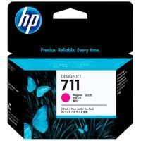 Cartucho de Tinta HP Designjet 711, Magenta - CZ135AB
