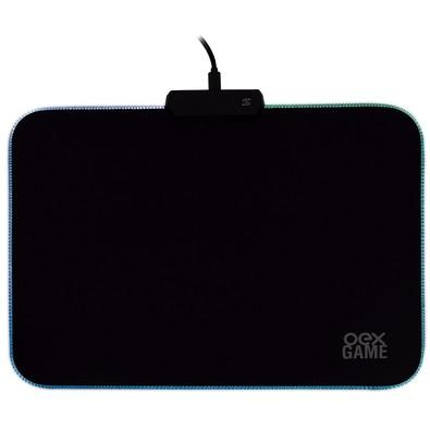 Mousepad Gamer OEX Game Glow, LED, Speed, Médio (353x256mm) - MP310