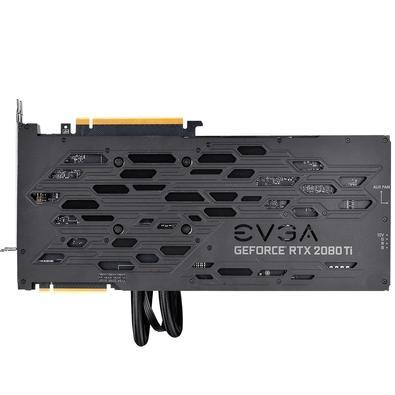 Placa de Vídeo EVGA NVIDIA GeForce RTX 2080 TI FTW3 Ultra Hybrid 11GB, GDDR6 - 11G-P4-2484-KR