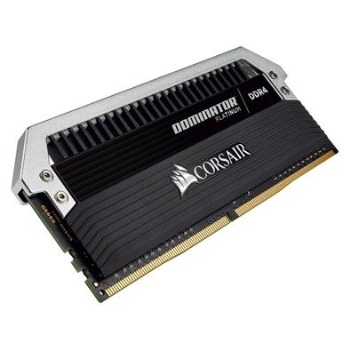 Memória Corsair Dominator Platinum, 16GB (2x8GB), 2400Hz, DDR4, C10, Preto - CMD16GX4M2B2400C10