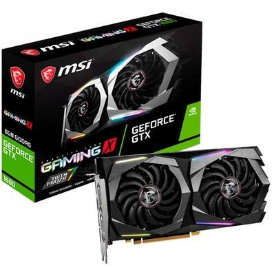 Placa de Vídeo MSI NVIDIA GeForce GTX 1660 Gaming X 6G, GDDR5