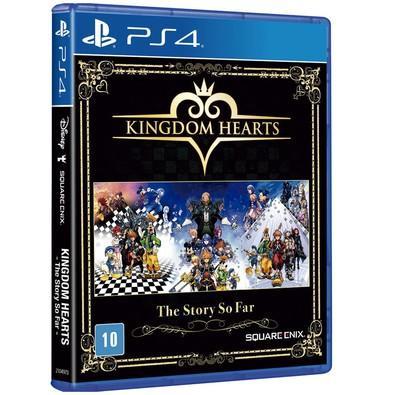 Game Kingdom Hearts The History So Far PS4