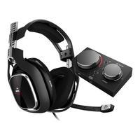 Headset ASTRO Gaming A40 TR + MixAmp Pro TR Gen 4 com Áudio Dolby para Xbox Series, Xbox One, PC, Mac - Preto/Vermelho - 939-001789