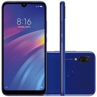 Smartphone Xiaomi Redmi 7, 32GB, 12MP, Tela 6.26
