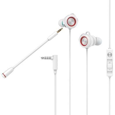 Fone de Ouvido Intra-Auricular Gamer Edifier P3, Branco - GM3SE