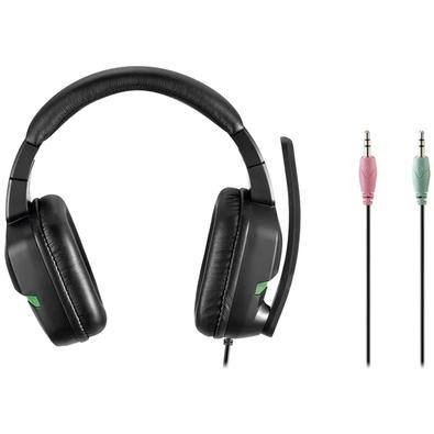 Headset Gamer Warrior Askari XBox One/Smartphone/Tablet, Verde - PH291