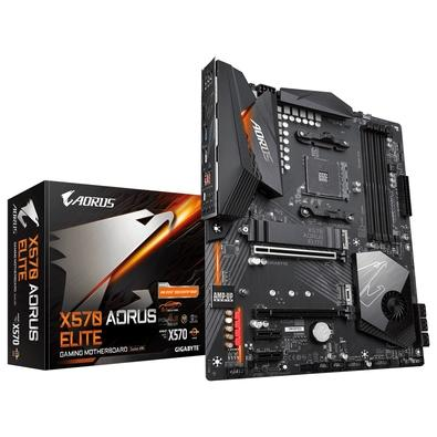 Placa-mãe Gigabyte Aorus X570 Aorus Elite, AMD AM4, ATX, DDR4