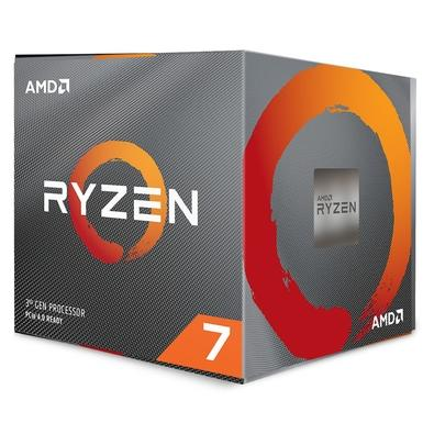 Processador AMD Ryzen 7 3700X 32MB 3.6GHz (4.4GHz Max Turbo) AM4, Sem Vídeo - 100-100000071BOX