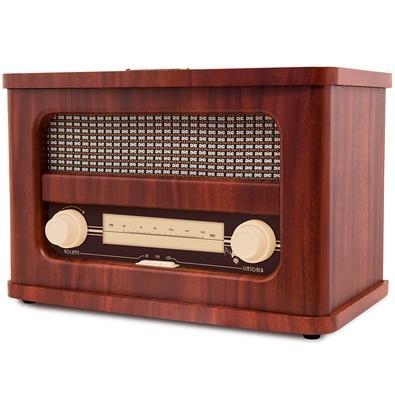 Rádio Portátil Telespark Golden - Bluetooth, MP3, FM, 12W RMS - 4905