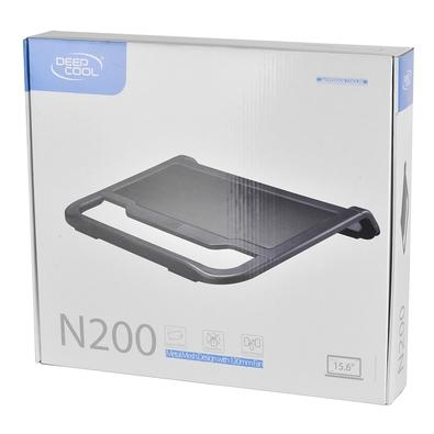 Base Notebook Deepcool N200, com Cooler, USB, 15.6´ - DP-N11N-N200