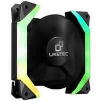 Cooler FAN Liketec Fantom, 120mm, RGB