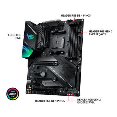 Placa-Mãe Asus ROG Strix X570-F Gaming, AMD AM4, ATX, DDR4