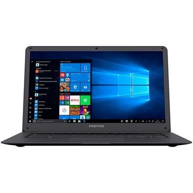 Notebook Positivo Motion Gray Q 232A, Intel Atom QC Z8350, 2GB, 32 GB eMMC, 14´, Windows 10 Home - 3001296