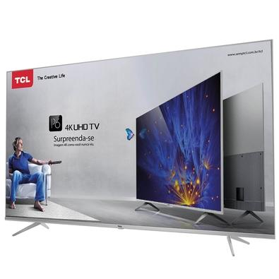 Smart TV LED 50´ 4K TCL P6US, 3 HDMI, 2 USB, HDR - 50P6US