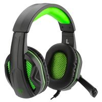 Headset Gamer T-Dagger Cook, Drivers 40mm, Preto e Verde - T-RGH100