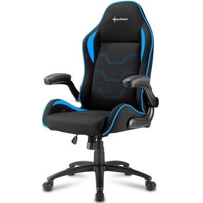 Cadeira Gamer Sharkoon Elbrus 1, Black Blue