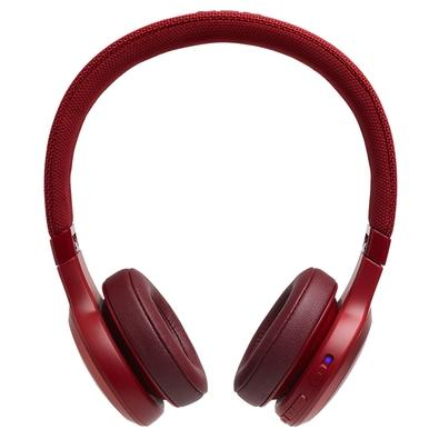 Headphone Bluetooth JBL Live 400BT, Vermelho - JBLLIVE400BTRED