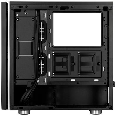 Gabinete Gamer Corsair Carbide SPEC-06 RGB, Mid Tower, Lateral em Vidro, Preto - CC-9011146-WW
