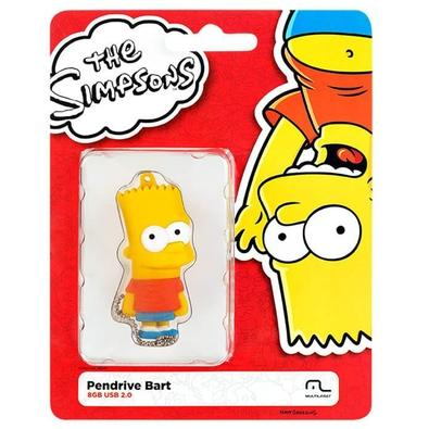 Pen Drive Multilaser Bart Simpsons, 8GB - PD071