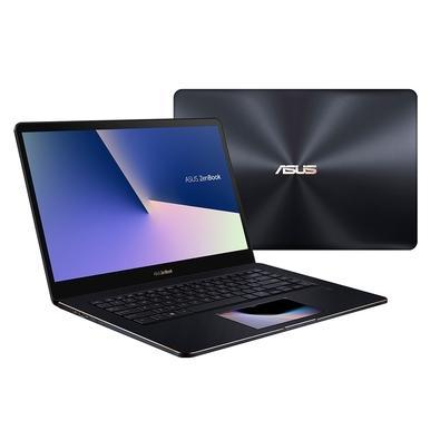 Notebook Asus Zenbook Pro, Core i9-8950HK, 16GB, 1TB, NVIDIA GeForce GTX 1050 Ti, Windows 10 Home, 15.6´, Azul Escuro - UX580GE-E2094T