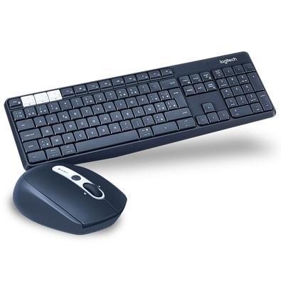 Kit Logitech Multi-Device - Mouse M585 Sem Fio + Teclado K375s Sem Fio