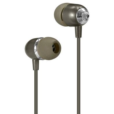 Fone de Ouvido Intra Auricular Vinik Sound Casual, Com Microfone, Cinza Space Metálico - 29352
