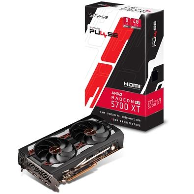 Placa de Vídeo Sapphire AMD Radeon RX 5700 XT 8GB, GDDR6 - 11293-01-21G