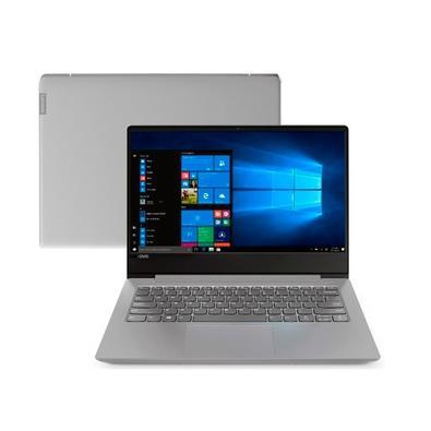 Notebook Lenovo B330S-14IKBR, Intel Core i5-8250U, 4GB, SSD 128GB, Windows 10 Pro, 14´, Prata - 81JU0003BR