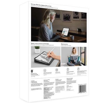 Capa Logitech Slim Folio Pro Com Teclado Iluminado Para iPad Pro 11´ Grafite - 920-009121