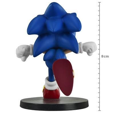 Action Figure Sonic The Hedgehog Boom Series Vol 2, Sonic Running