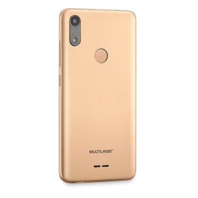 Smartphone Multilaser F, 16GB, 5MP, Tela 5.5´, Dourado + Capa e Película - P9106