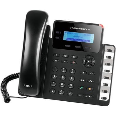 Telefone IP Grandstream, 2 Contas SIP, 2 Linhas, Preto - GXP1628