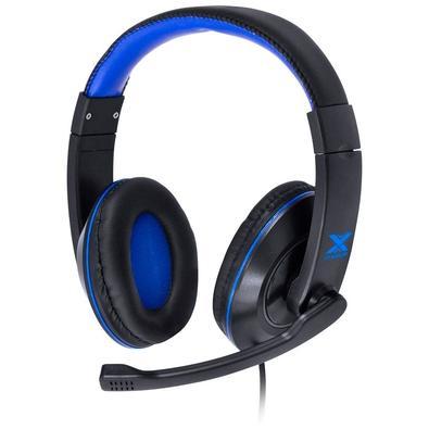 Headset Gamer Vinik VX Gaming V Blade II, Drivers 40mm, Preto e Azul - 29379