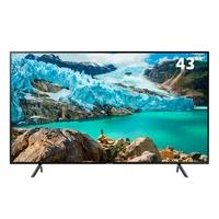 Smart TV LED 43´ UHD 4K Samsung, 3 HDMI, 2 USB, Wi-Fi, Bluetooth, HDR - UN43RU7100GXZD