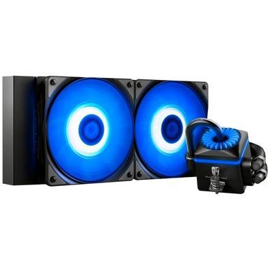 Water Cooler Deepcool Captain 240EX V2, 240mm, RGB - DP-GS-H12L-CT240RV2