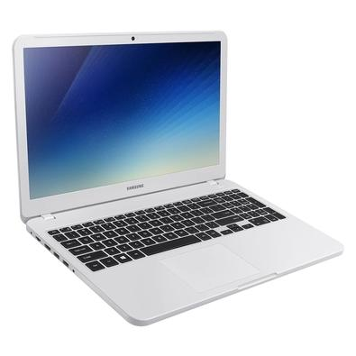 Notebook Samsung Essentials E30, Intel Core i3-7020U, 4GB, HD 1TB, Windows 10 Home, 15.6´, Branco - NP350XAA-KF4BR